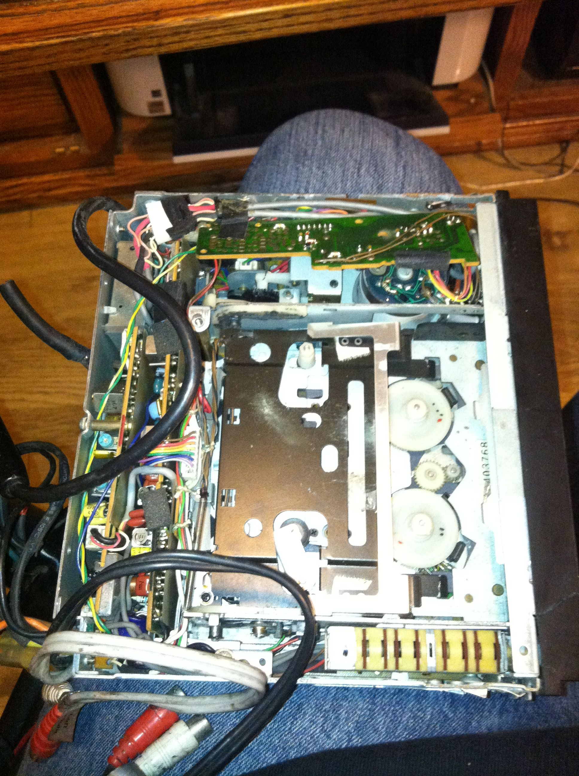 Nakamichi Td 500 And 700 Worm Gear Part Page 2 Audiokarma Car Stereo Wiring Harness Img