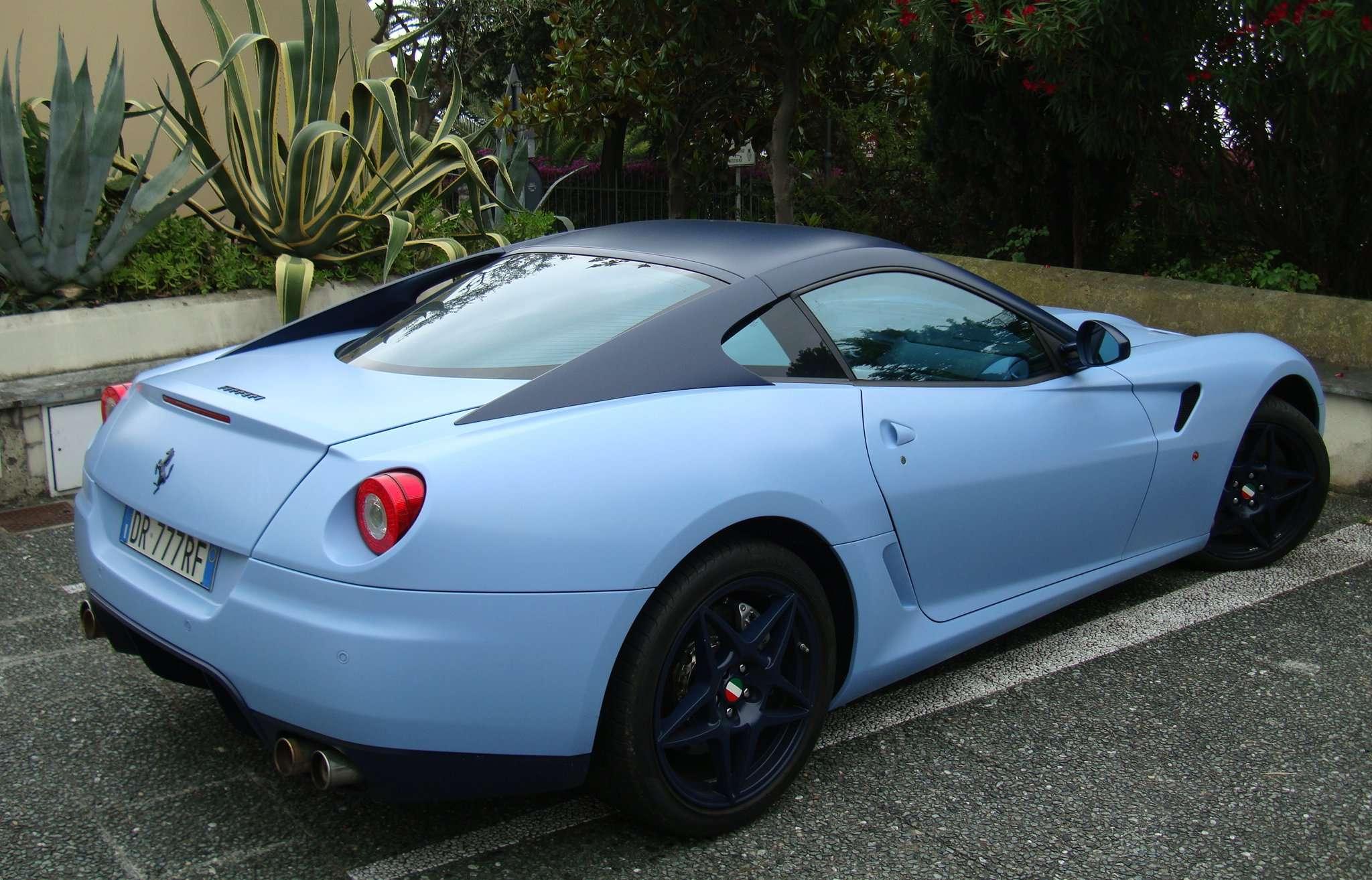 Power Cars Ferrari 599 Fiorano Azzurro Metallic Denim