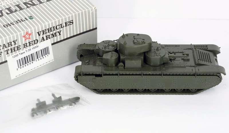 1933 1:87 Premo Minitanks 1200 T-35 neu