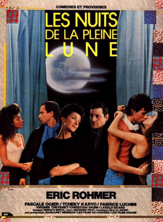 00795858photoafficheles Eric Rohmer   Les nuits de la pleine lune aka Full moon in Paris (1984)