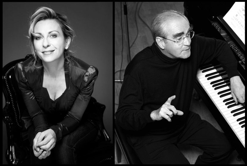 Michel Legrand and Natalie Dessay