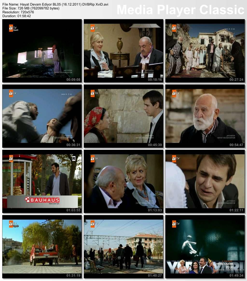 Hayat Devam Ediyor Bölüm 05 DVBRip XviD Tek Link indir