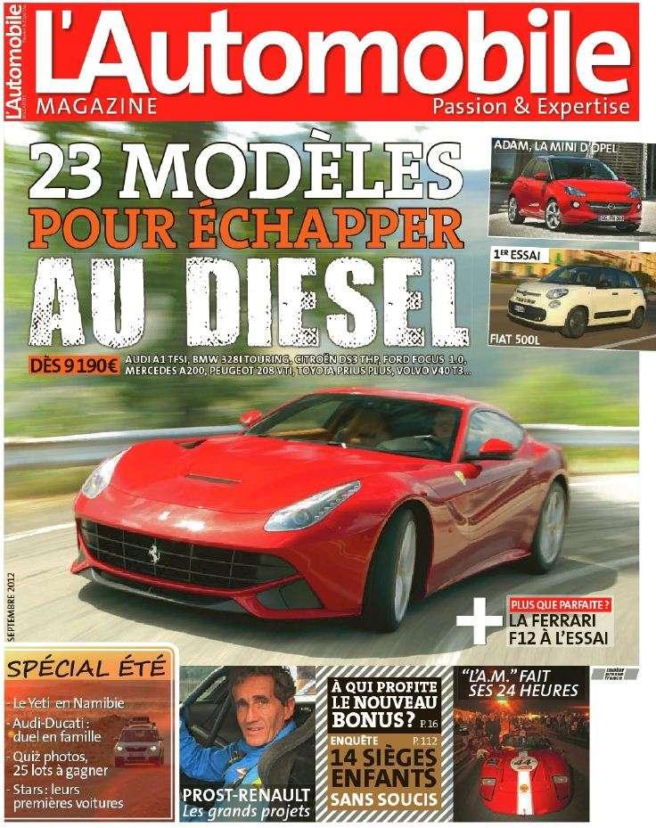 L'Automobile Magazine 796 Septembre 2012