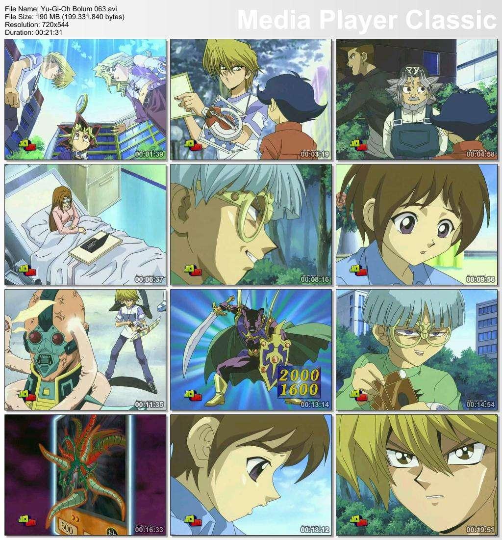 Yu-Gi-Oh Bölüm 61-70 1998-2006 DVBRip XviD Türkçe Dublaj